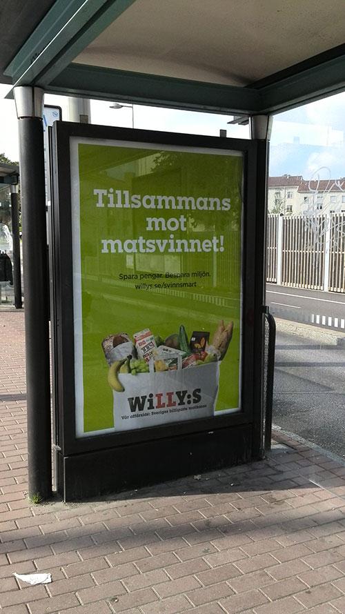 Efter Willys kampanj om matsvinn kom deras nästa vid jul, och handlade förstås om att handla mer och mer